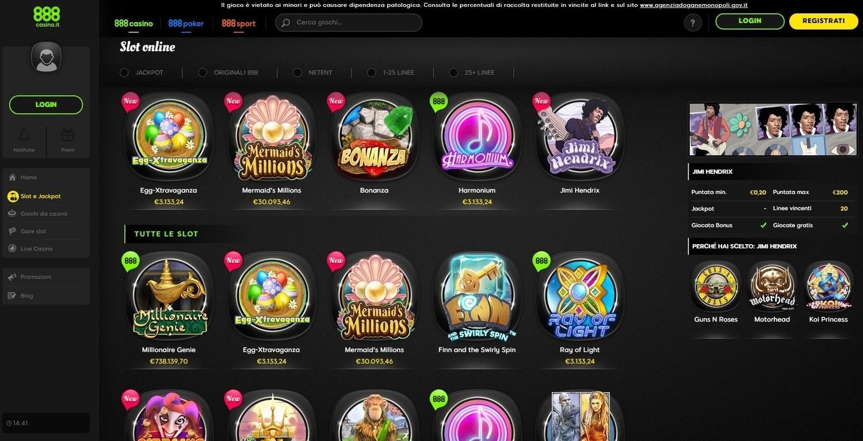 Casino 888 Bonus Policy